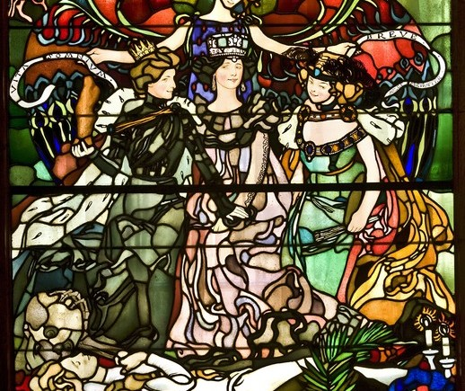 Cleansed Stained Glass